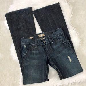 William Rast Madison Flare Trouser Jeans Sz 26